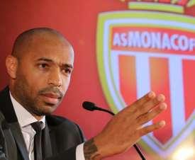 Thierry Henry destacó a sus referentes. AFP