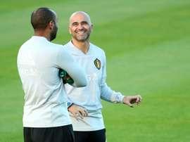 Roberto Martinez pourrait devenir l'entraîneur du Real Madrid. AFP