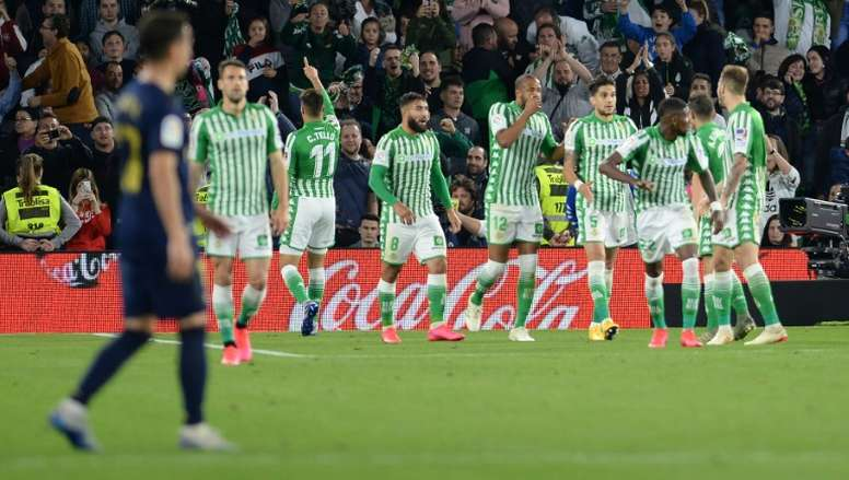 Le Betis Séville réduit le salaire de ses joueurs. AFP