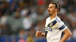 Un triplé d'Ibrahimovic pour un festival offensif du LA Galaxy. AFP