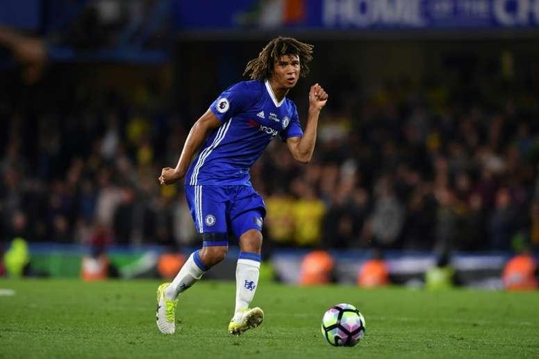 Aké podría volver a vestir la elástica del Chelsea. AFP