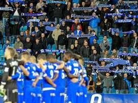 Bastia aimerait continuer son parcours en Coupe de France, ce soir. AFP