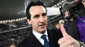 Emery tem a missão de levar o Arsenal de volta a Champions e aos títulos. AFP