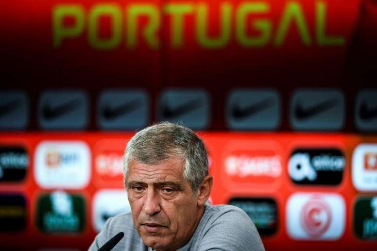 Fernando Santos confessou que Cristiano Ronaldo já não o surpreende. AFP