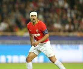 Falcao está siendo uno de los mejores goleadores de Europa. AFP