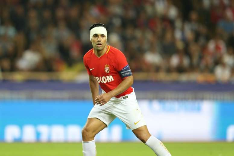 Falcao is currently one of the best strikers in Europe. AFP
