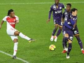 Gelson Martins está feliz no Mónaco. AFP