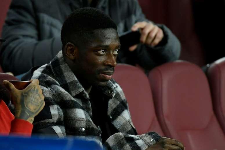 Klopp pede Dembélé. AFP