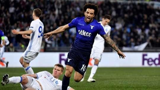 La Lazio venció 0-2 al Dinamo de Kiev. AFP/Archivo