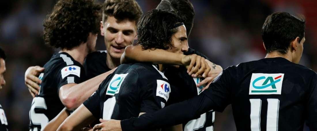 El PSG se enfrentará a un Tercera en la final de Copa. AFP