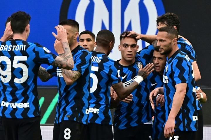 L'Inter batte la Samp. AFP
