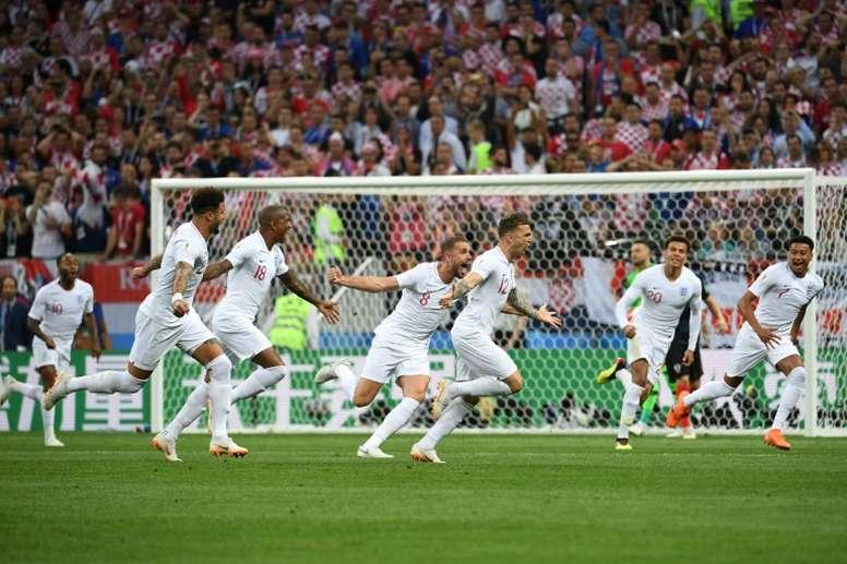 Trippier y un gol que sirvió de poco al final. AFP