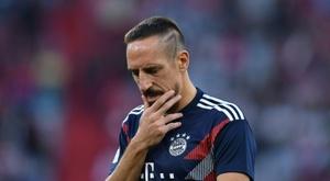 Ribery perdió los papeles. AFP
