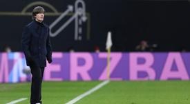 Les supporters allemands souhaitent le départ de Löw, selon un sondage. AFP