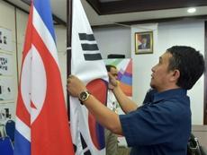 Les deux Corées dans le même groupe de qualifications du Mondial 2022. AFP