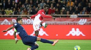 Keita Baldé lo tiene claro, él ficharía a Neymar. AFP/Archivo