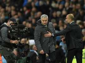 Mourinho has slammed City. AFP