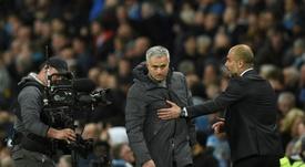 El Tottenham le ha comunicado a Mou que no habrá fichajes en el mercado de invierno. AFP