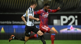 Agreement for the loan of Dembélé to Atlético. AFP