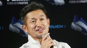 Miura est une légende au Japon. AFP