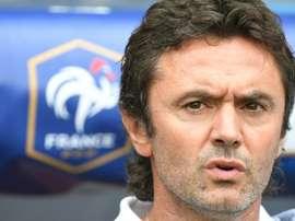 Le sélectionneur des Espoirs Sylvain Ripoll. AFP