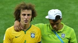 David Luiz revient sur le 1-7 contre l'Allemagne en 2014. AFP