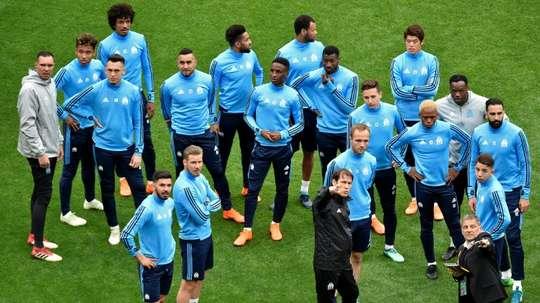 Marseille veut repartir de l'avant. AFP