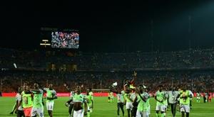 La Nigeria è la terza classificata. AFP