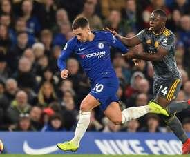 Roberto Martinez croit en Hazard. AFP