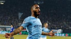 El City se llevó un partido muy raro. AFP