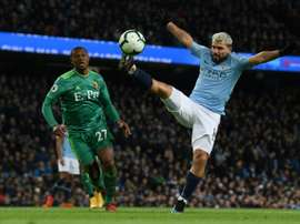 It is unknown whether Aguero will go back to Independiente. AFP