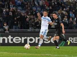 La Lazio espère prolonger vite Luiz Felipe. AFP