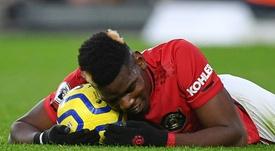 Manchester United fixe une limite pour Pogba. AFP