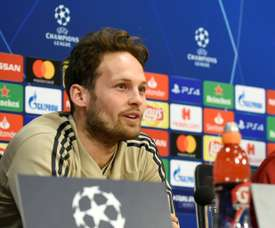 Daley Blind, and Ajax, are not getting ahead of themselves. AFP