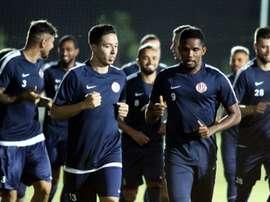 Le milieu de terrain français du club turc Antalyaspor, Samir Nasri. AFP