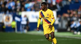 United are keen on Dembélé. AFP