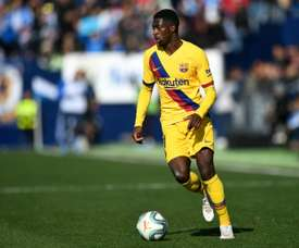 United are keen on Dembélé. AFP