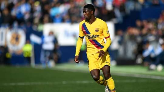Liverpool have reportedly asked Barca to have Dembele on loan. AFP