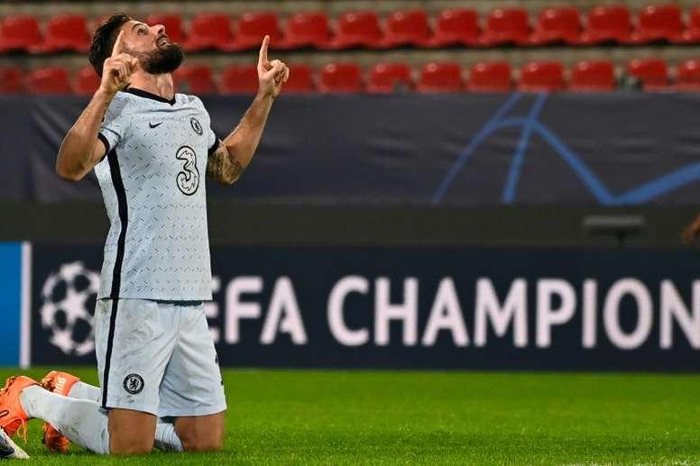 Inter Miami want Giroud. AFP