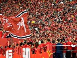 Les clubs chinois vont réduire les salaires des footballeurs. AFP