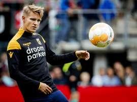 La demande d'Odegaard au Real Madrid. AFP