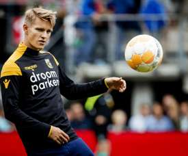 Odegaard compared to Eriksen in Norway. AFP