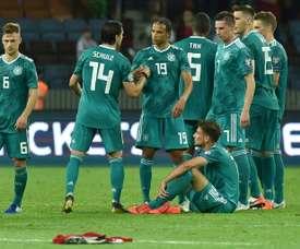 L'Allemagne fait le job au Belarus. AFP