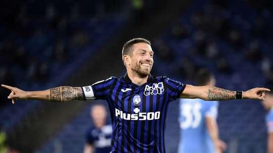 Gomez quitte Bergame pour Séville à la fois triste et content. AFP
