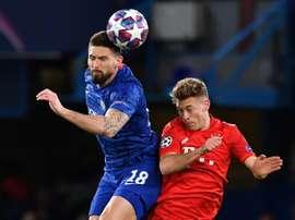 Chelsea chega com desvantagem de ter perdido por 3 a 0 no jogo de ida. AFP