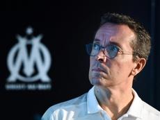 Un an de prison avec sursis pour des menaces de mort contre le président de l'OM. AFP