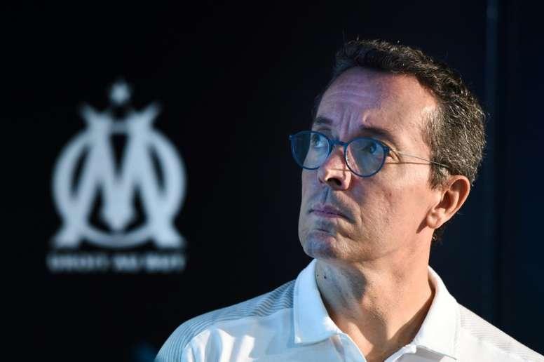Amenazan de muerte al presidente del Marsella. AFP