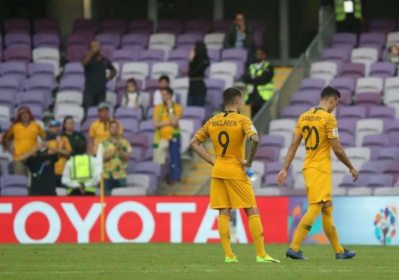 L'Australie tombe de haut devant la Jordanie pour son entrée en Coupe d'Asie des Nations. AFP
