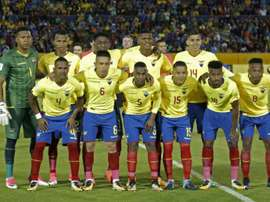 Five Ecuador players have been suspended by the Ecuadorian FA. AFP