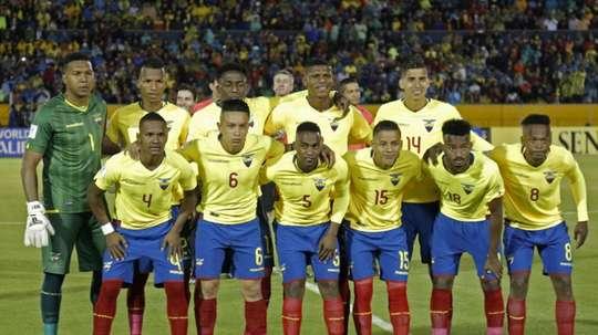 Five Ecuador players have been suspended by the Ecuadorian FA. AFP